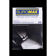 Бумага копировальная А4 100л черная ВМ 2701