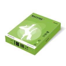 Бумага цветная А4 160 г/м 250л Maestro Color Intensive MA42 Spring Green зеленый