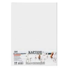 Бумага картон белая А4 10л 10шт/уп