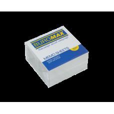 Блок белой бумаги для записей, 90х90х50 мм, не склеенный