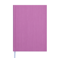 Ежедневник недат. ACTUAL, L2U, A5, св.-розовый, бумвинил