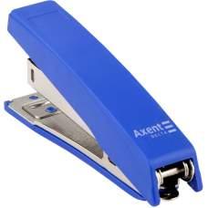 Степлер канцелярский №10/5 Axent Delta D4219-02, пластиковый, 10 листов, синий