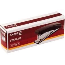 Степлер канцелярский №10/5 Axent Delta D4219-01, пластиковый, 10 листов, черный