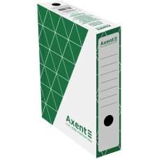 Бокс архивный Axent 1731-04-A 80 мм, зеленый