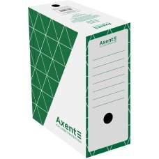 Бокс архивный Axent 1733-04-A 150 мм, зеленый