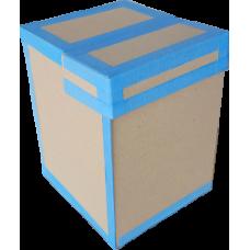 Короб архивный горизонтальный с составной крышкой