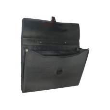 Портфель В4 с тканевой окантовкой, 3 отделения