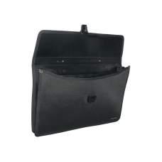 Портфель В4 с тканевой окантовкой, 2 отделения