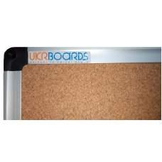Доска пробковая TM Ukrboards (алюминиевая рамка), 65х100 см.