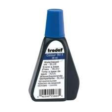 Краска штемпельная 28мл TRODAT 7011 синяя 10шт уп