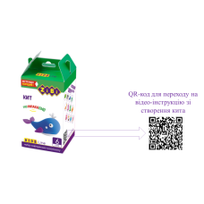 Набор воздушного пластилина для лепки КИТ