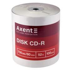 CD-R Axent 8101-A 700MB/80min 52X, 100 штук, bulk