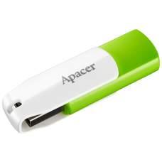 Флеш-пам'ять Apacer AH335 64GB Green/White