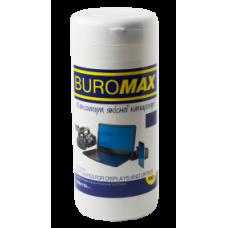 Салфетки Buromax Box TFT/PDA/LCD 100шт ВМ 0800 12шт/уп