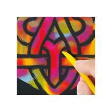 Набор для творчества: гравюра с эффектом радуги, 5 листов А4 + инструмент