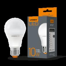 Лампа LED, 10W, E27, 3000K, 220V, VIDEX