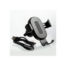 Автомобильное безпроводное зарядное устройство Optima 4117, 10 W output, черное