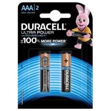 Батарейка R-03 1х2шт DURACELL Ultra 20шт/уп