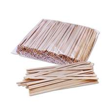 Мешалка одноразовая 14см деревянная 800шт/уп