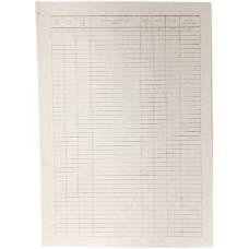 Бланк карточка складского учета М17 (А4, картон, 100шт)