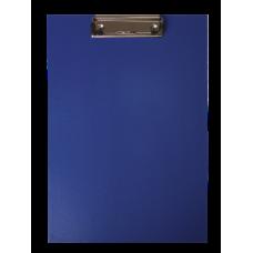 Клипборд, А4, PVC, темно-синий