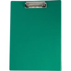 Клипборд, А4, PVC, зеленый