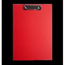 Клипборд, А4, PVC, красный