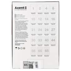 Самоклеящиеся этикетки Axent 2469-A 100 листов A4, 38.1x21.2 мм