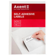 Самоклеящиеся этикетки Axent 2463-A 100 листов A4, 105x37 мм