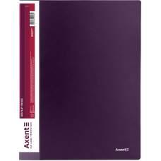 Дисплей-книга Axent 1010-11-A, A4,10 файлов, сливовая