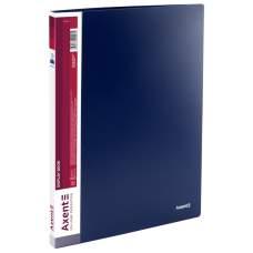 Дисплей-книга Axent 1010-02-A, А4, 10 файлов, синяя