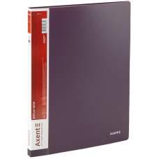 Дисплей-книга Axent 1020-11-A, A4, 20 файлов, сливовая