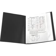 Дисплей-книга Axent 1030-01-A, А4, 30 файлов, черная