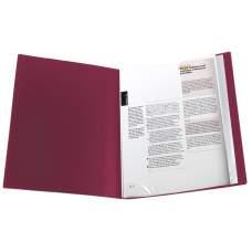 Дисплей-книга Axent 1010-04-A, А4, 10 файлов, бордовая