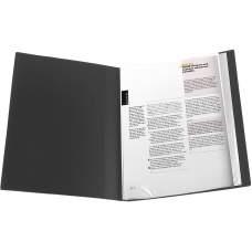 Дисплей-книга Axent 1020-01-A, А4, 20 файлов, черная