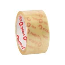 Лента клейкая упаковочная (скотч) Optima Extra, прозрачная, 48мм*50м