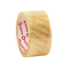 Лента клейкая упаковочная (скотч) Optima Extra, прозрачная, 48мм*70м