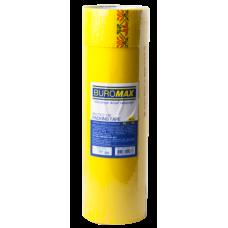 Клейкая лента упаковочная, 48 мм x 35 м, желтая, по 6 шт.