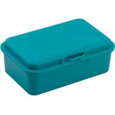 Ланч-бокс (контейнер для еды) ECONOMIX SNACK 750 мл, бирюзовый