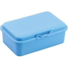 Ланч-бокс (контейнер для еды) ECONOMIX SNACK 750 мл, пастельно голубой