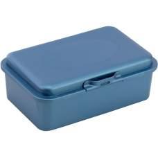 Ланч-бокс (контейнер для еды) ECONOMIX SNACK 750 мл, синий металлик