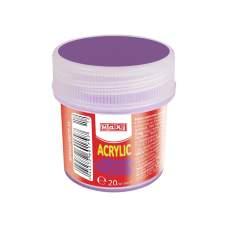 Акрил для декора матовый 20 мл, фиолетовый