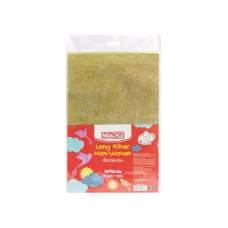 Флизелин, 20*30 см, 30±1 г/м2, 5 листков, золотистый