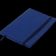 Блокнот деловой BRIEF, L2U, А5, 96 л., линия, синий, иск.кожа