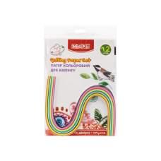 Набор бумаги цветной для квиллинга 7 мм х 420 мм