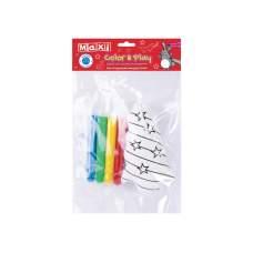 Набор: изделие для раскрашивания+4 фломастера