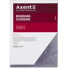 Обложка пластиковая Axent 2710-A прозрачная, А4, 50 штук, черная