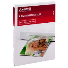 Плёнка для ламинирования Axent 2050-A, 80 мкм, A5, 154х216 мм, 100 штук
