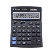 Калькулятор BRILLIANT 12р 140х175х25мм BS-0222
