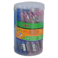 Ручка перьевая с открытым пером, в тубе по 36 шт., KIDS Line